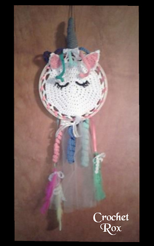 Ravelry Unicorn Dreams Dream Catcher Pattern By Roxann