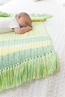 Ravelry Leisure Arts 6198 Tunisian Crochet Baby Blankets Patterns