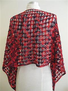 Ravelry Flamenco Shawl Pattern By Sharon Silverman