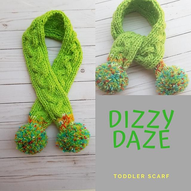 Ravelry Dizzy Daze Toddler Scarf Pattern By Crochet By Starlight