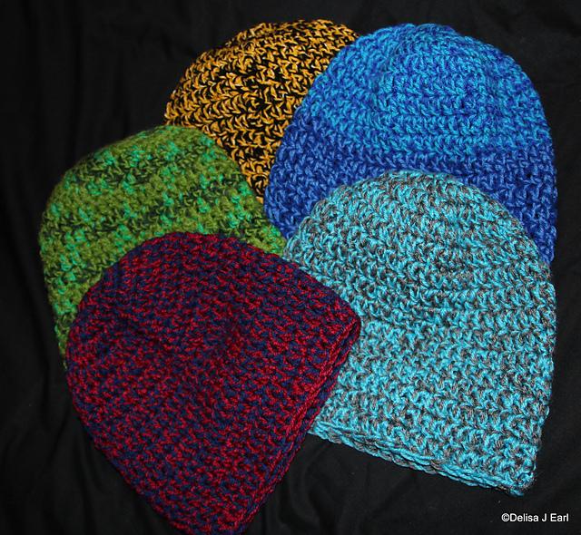Ravelry Mens Double Strand Beanie Pattern By Crochetmummie