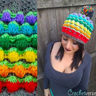 dda55c6996731 Ravelry  Berry Fields Hat pattern by Stephanie Pokorny