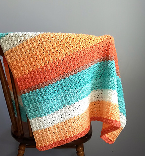 Ravelry Everyday Baby Blanket Pattern By Mary P