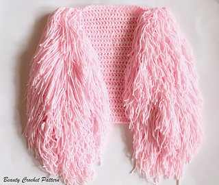 Ravelry Fringe Vest Pattern By Beauty Crochet Pattern