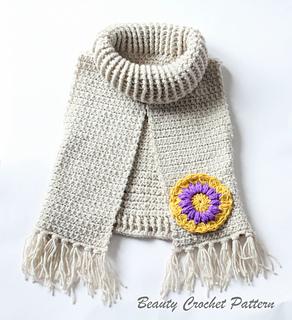 Mandala Poncho pattern by Beauty Crochet Pattern