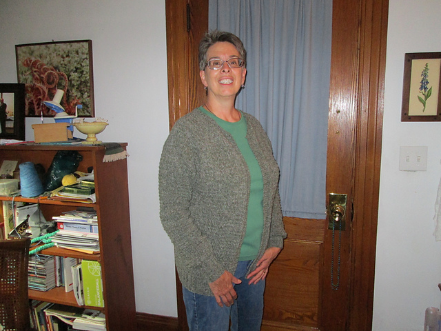 108fb731e Ravelry  Sure-to-Fit Cardigan 29sw pattern by Connie Delaney