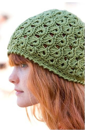 Free Knitting Patterns For Lace Hats : Ravelry: Broomstick Lace Hat pattern by Margaret Hubert