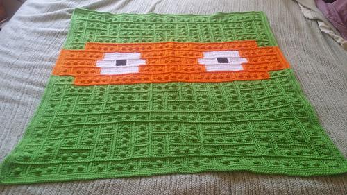 Ninja Turtle Lego Blanket Pattern By Alexi Westover Enchanting Crochet Turtle Blanket Pattern