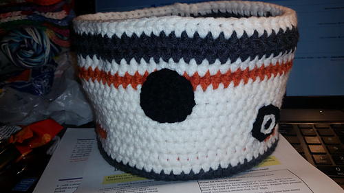 94cc514a95591 Ravelry: BB-8 Oversized Basket pattern by Hooking Housewives