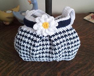 Ravelry houndstooth handbag pattern by jennifer pionk dt1010fo