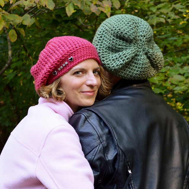 Ravelry Big Kahuna Unisex Slouch Hat For The Entire Family Crochet