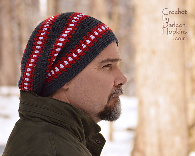 Ravelry Cubed Hat Super Slouchy For Men Teens And Ladies Too