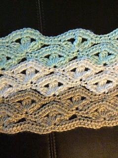 Irish Lace Crochet Afghan Pattern : Ravelry: Irish Wave Baby Afghan pattern by Elizabeth Mareno