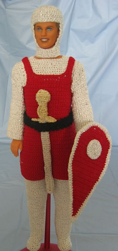 Free Knitting Patterns For Ken Doll Clothes : Ravelry: Knight Ken Doll Outfit pattern by Donna Collinsworth