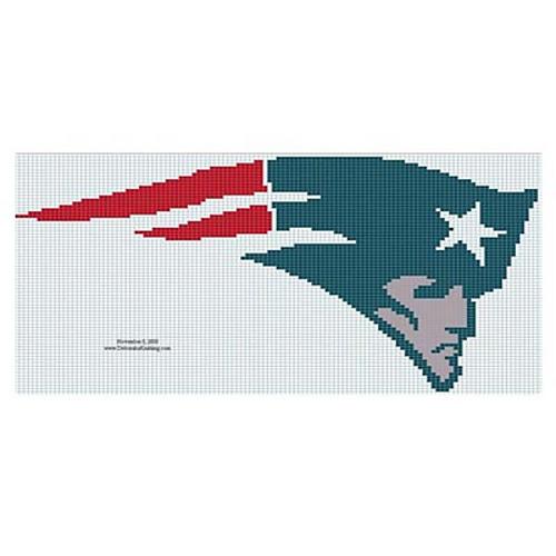Ravelry New England Patriots Logo Pattern By Deborah V Gardner
