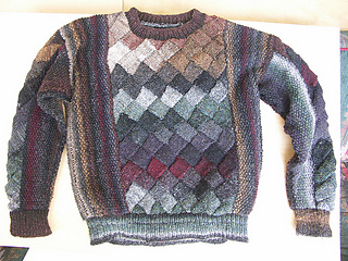 Ravelry Entrelac Pullover Sweater Ws 105 Pattern By Sarah