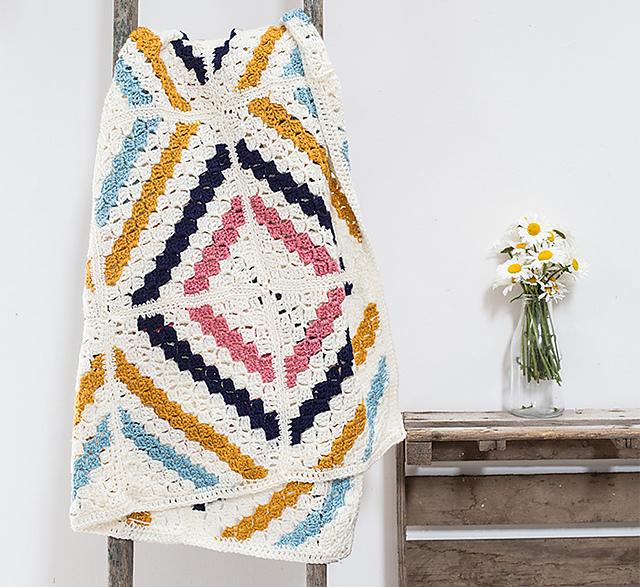 Ravelry: Cedar River Blanket pattern by Deramores Retail Ltd.