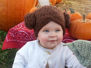 Ravelry  Star Wars Princess Leia Hat Wig pattern by Sara Jean 047e188e00e