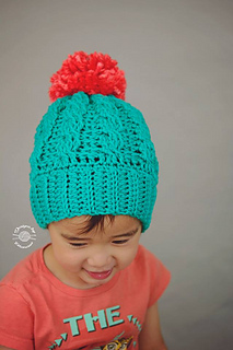 a2ed246e9dae Ravelry  Avery Cabled Slouch Beanie pattern by Phanessa Fong
