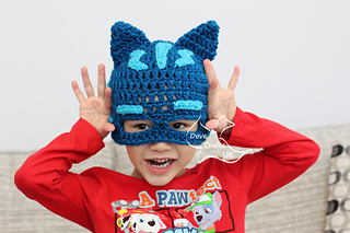 Ravelry  Catboy Mask Hat (PJ Masks) pattern by Dove Crafts UK 9208acb1368