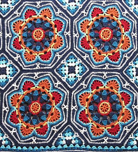 kristine queued Persian Tile Blanket by Jane Crowfoot