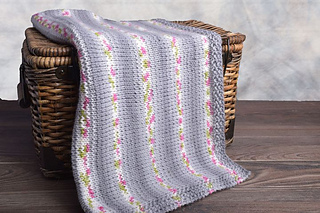 Ravelry Easy Baby Car Seat Blanket Pattern By Autumn Burns