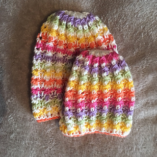 a34c6fa5a84 Ravelry  Little Surprise Baby Hats pattern by marianna mel