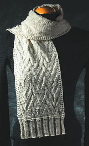 Ravelry Fiddlesticks Knitting Three Ripple Scarves Patterns