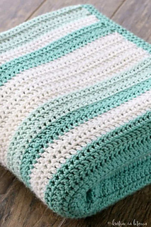 Ravelry Easy All Double Crochet Afghan Pattern By