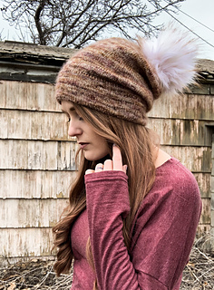 68be8cd4548 Ravelry  Everyday Slouchy Beanie pattern by Dragon Hoard Designs