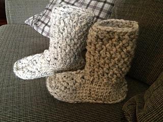 Ravelry Brickwork Slipper Boots Pattern By Dorianna Rivelli
