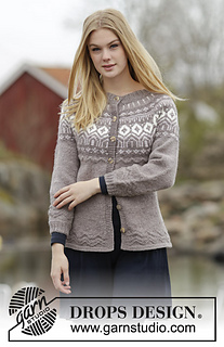 2e33ae46d Ravelry: 164-22 English Afternoon Cardigan pattern by DROPS design