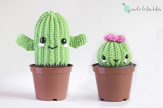 Amigurumi Cactus : Ravelry amigurumi cactus pattern by duende de los hilos