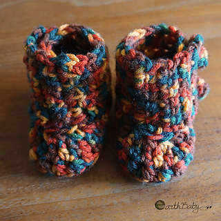 Ravelry Left Handed Baby Wrap Boots Pattern By Earth Baby Crochet