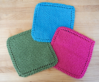 Ravelry: Easy Knit Dishcloth pattern by Penolopy Bulnick