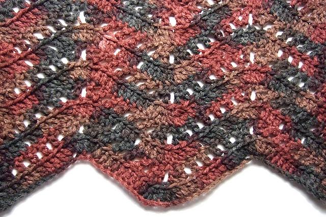 Ravelry Filet Blocks Ripple Blanket Pattern By Heather Tucker