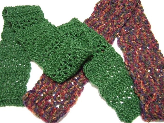 Ravelry Quick V Stitch Scarf Pattern By Heather Tucker