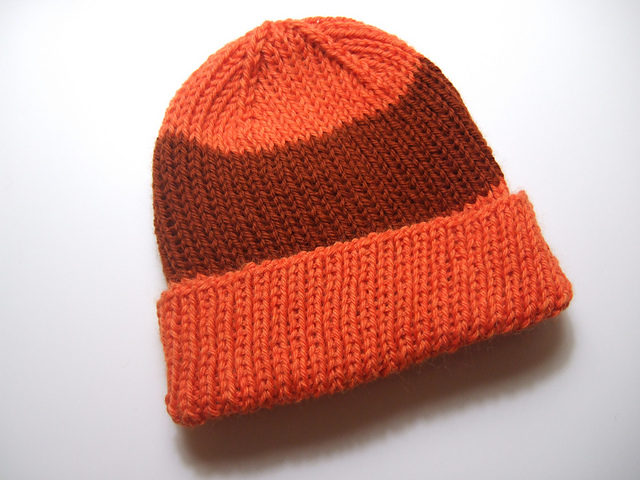 Ravelry: Basic Ribbed Hat pattern by Heather Tucker
