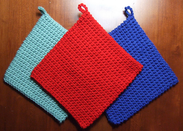 Ravelry The Best Crocheted Potholder Pattern By Heather Tucker