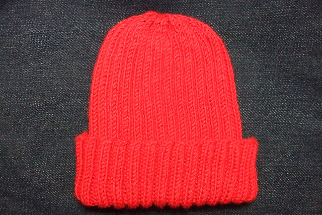 Ravelry Basic Ribbed Babychild Hat Pattern By Heather Tucker
