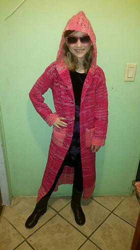 56b689e44cabc Ravelry  Women s Hooded Sweater pattern by Maz Kwok
