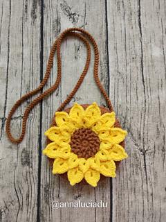 Ravelry Crochet Sunflower Bag Pattern By Emma Du