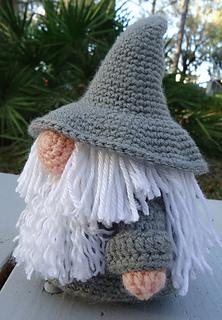 Ravelry Gandalf Gonk Pattern By April Crochets