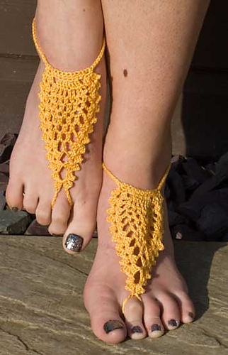 Ravelry Barefoot Sandals Pattern By Helen Free