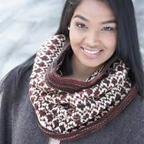 Ravelry: Discover Fair Isle Cowl pattern by Craft Yarn Council of ...