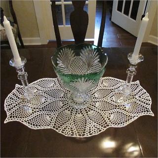 Ravelry Oval Pineapple Doily Pattern By Michelle Starkie
