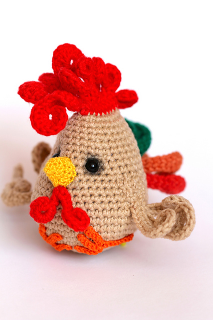 Ravelry Funny Rooster Pattern By Ermak Elena