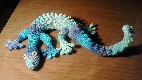 Ravelry: Gecko Frecko pattern by Raphaela Blumenbunt