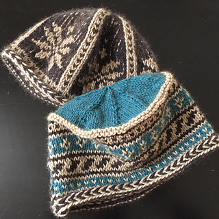 Ravelry  Peerie Hat with Flat Top pattern by Eulah Sheffield 3bc08584037