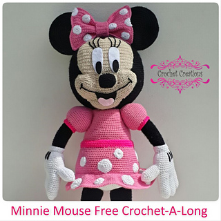 Ravelry Minnie Mouse Crochet A Long Pattern By Elzaan Van Rensburg